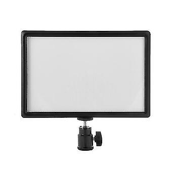 Ultra-thin LED Video Light Dimmable 3200K-6200K Bi-color Photography Fill Light