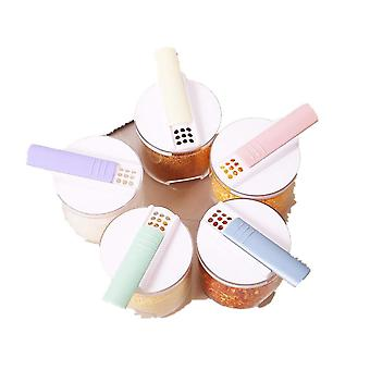1Set Brandneue Küchenutensilien Gewürzflasche BBQ Gewürzglas Gewürzglas Pfefferflasche