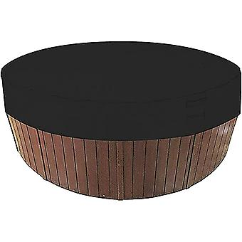 Impermeable resistente a la intemperie SPA cubiertas de protección de hidromasaje redonda con elástico para bañera al aire libre