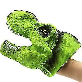 Dinosaurus käsinukke käsineet, pehmeä dinosaurus malli lelu lapsille(S10)