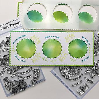 """Crafter's Workshop Clear Stamps 4""""X6"""" - Precious Sentiments"""