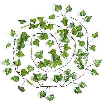 Artificial flora homemiyn artificial simulation plant rattan artificial wall hanging vine leaf plantsdecoration home