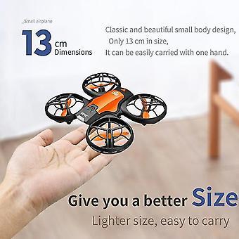 Remote control helicopters cevennesfe v8 mini drone 4k 1080p hd camera wifi fpv air pressure altitude hold black quadcopter rc