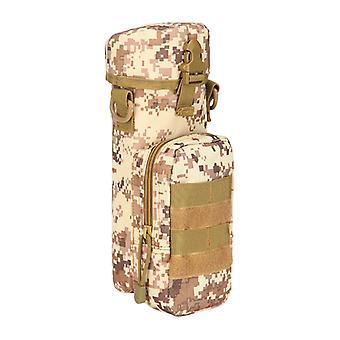 Camping Riding Outdoor Multifunctional Waist Bag Camouflage Tactics One Shoulder Satchel Small Kettle Hanging Bag