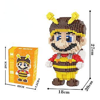 Mario Serie de rompecabezas padre-hijo Alta dificultad Ensamblar juguetes de bloques de construcción
