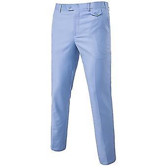 Pantalon homme plat slim business man, pantalon de bureau