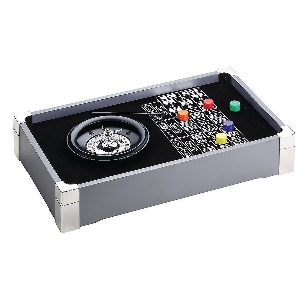 Table Top Roulette Casino Desktop Indoor Game Set Fun Games Toy Gift Idea