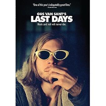 Last Days [DVD] USA import