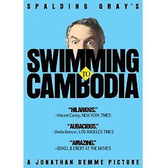 Zwemmen aan Kambodja [DVD] USA import