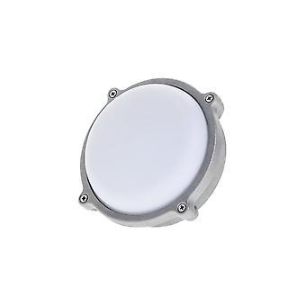 Timeguard kierros grafiitin harmaa 15W LED ulkouima laipio