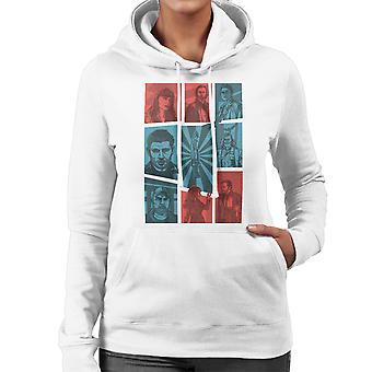 Hunter Games Supernatural Sam And Dean Winchester Gta Women's Hooded Sweatshirt