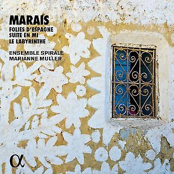 Muller, Marianne / conjunto Spirale - Marais: importación USA Folies D'Espagne [CD]