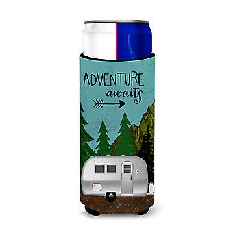 Airstream Camper Adventure Awaits Michelob Ultra Hugger for slim cans