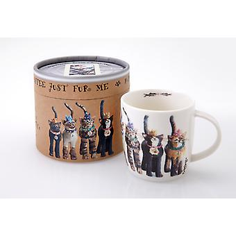 Royal Furmily Pawtraits Group Cat Mug
