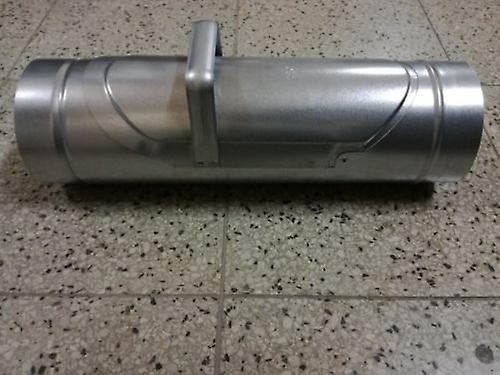 Rainwater Diverter  - 100 mm - Metal - Galvanised Steel For Downpipe - Guttering