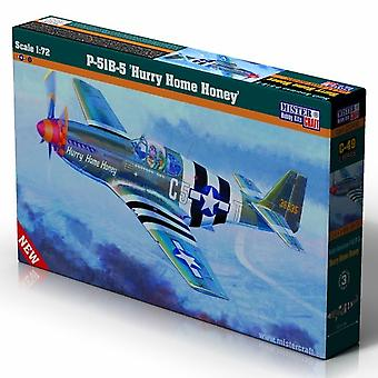 Mistercraft 1: 72 P-51 Mustang B-5 Skynd dig hjem honning