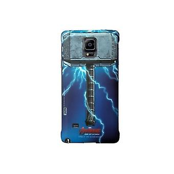 Original Samsung Marvel Avengers Thor hard case pour Galaxy note 4