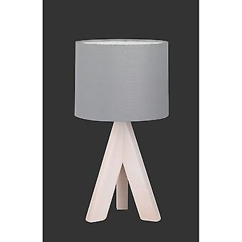 Trio Beleuchtung Ging Modern Holz gefärbt natürlichen Holz Tischleuchte
