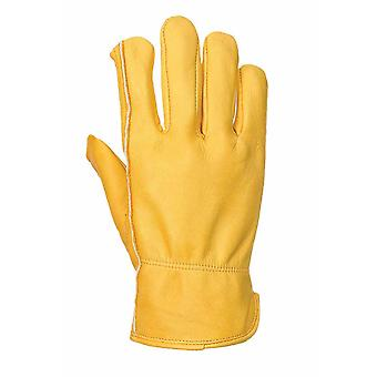 Portwest - (6 Pair Pack) Thinsulate Lined Plant Drivers Hand Protection Glove