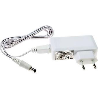 Dehner Elektronik LED 12V24W-MM-W2E LED transformer Constant voltage 24 W 2 A 12 V DC Approved for use on furniture