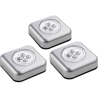 Müller Licht 400136 Portable mini light 3-piece set LED Silver