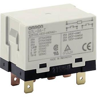 Omron G7L-2A-T 200-240 VAC Plug-in relay 240 V AC 25 A 2 makers 1 pc(s)