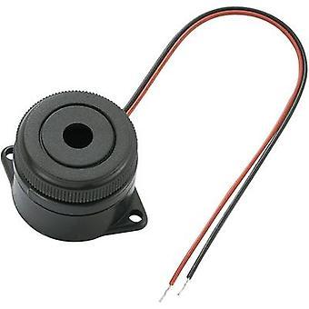 KEPO KPI-G2910L-6272 Piezo buzzer Noise emission: 90 dB Voltage: 12 V Continuous acoustic signal 1 pc(s)