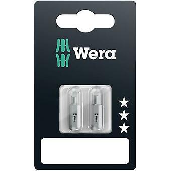 Wera 800/1 - Set SiS Slot drive bit 4,5 mm, 5,5 mm, 6,5 mm in lega di acciaio utensile, indurito D 6.3 3 pc(s)