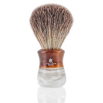 Vie lange 16734 svart Badger barbering pensel
