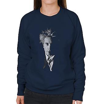 Zwart-wit John Lydon Johnny Rotten van Public Image Ltd vrouwen Sweatshirt