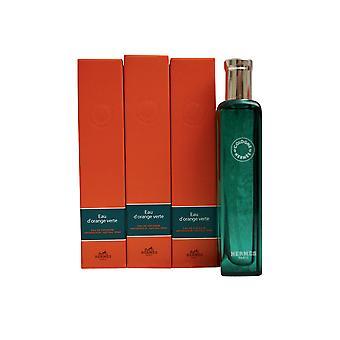 Hermes Eau D'Orange Verte Eau de Cologne Set van 3 x 0,5 OZ