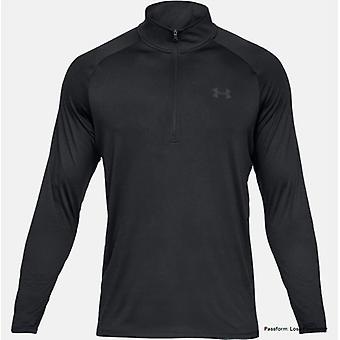 Under Armour tech 2.0 long sleeve top with ½ zip 1328495