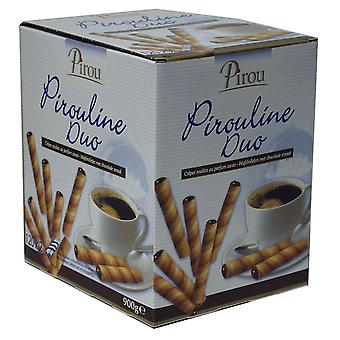 Pirou Pirouline Chocolate Lined Wafers Sticks (Twin Wrapped)