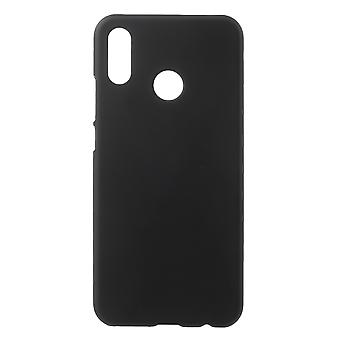 Huawei P20 Lite gumowane twarde plastikowe powłoki-czarny