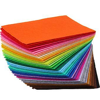 أوراق شعر المتعددة الألوان 40PC