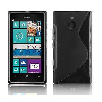 Futerał Cadorabo do obudowy Nokia Lumia 925 - obudowa telefonu komórkowego - silikonowa obudowa ochronna Ultra Slim Soft Back Cover Case Bumper