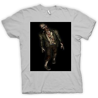 Womens T-shirt - Zombie Undead Walking - Horror