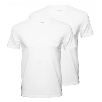 BOSS 2-Pack Relaxed-Fit V-Neck T-Shirts, weiß