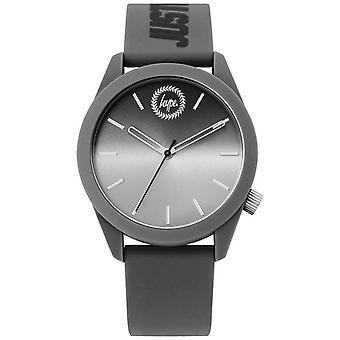 Hype | Mens grijs siliconen | HYU020EE Watch