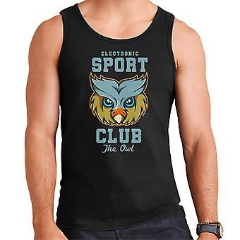 The Owl Sports Club Men's Vest