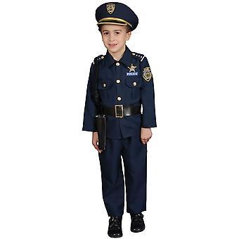 Police Boy Child Costume