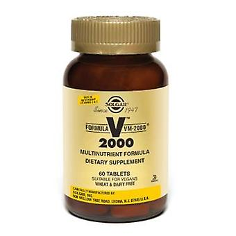 Solgar Formula Vm-2000 Tablets (Multinutrient System) 60