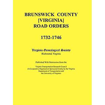 Brunswick County Virginia Road beställer 17321746. Publiceras med tillstånd från Virginia transport Research Council en samarbetsorganisation som sponsras gemensamt av Virginia institutionen av Virginia Genealogiska samfundet