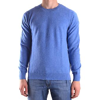 Altea Ezbc048051 Men's Light Blue Wool Sweater