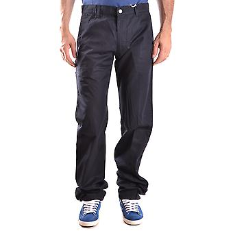 Aspesi Ezbc067041 Pantaloni di cotone nero