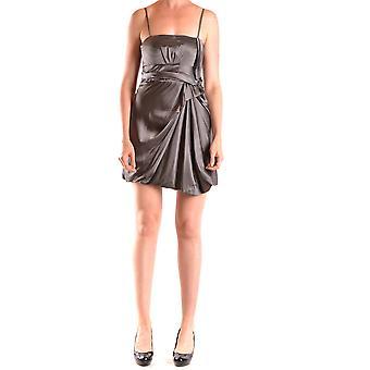 Liu Jo Ezbc086150 Women's Grey Silk Dress