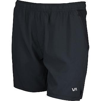 RVCA Mens VA Sport ATG Shorts - zwart