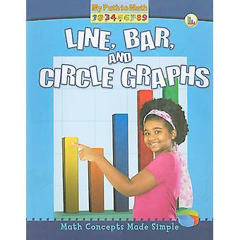 Line - Bar - and Circle Graphs by Claire Piddock - 9780778752943 Book