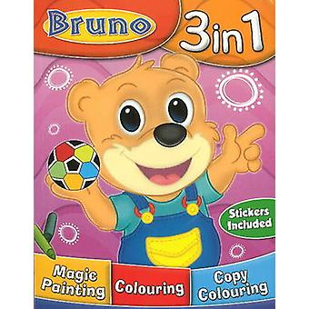 Bruno 3 in 1 by Sterling Publishers - 9788120761308 Book