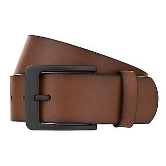 MONTI ATLANTA Belt Men's Belt Leather Belt Cognac 8034